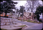 Byrd House, being demolished by James Madison University