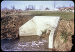 Where sewage enters Blacks Run by James Madison University