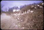 Trash along road at City Dump by James Madison University