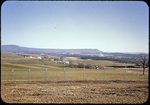 Shenandoah Valley, Massanutten Mountain seen from Harrisonburg Water Filtration