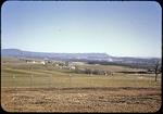 Shenandoah Valley, Massanutten Mountain seen from Harrisonburg Water Filtration by James Madison University