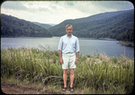 Peter Ebel at Switzer Dam by James Madison University