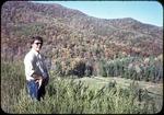 Bridgewater College student Dave Foshay on Switzer Dam by James Madison University