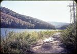 View of Skidmore Lake, taken along road on edge of lake by James Madison University