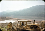 Construction of Switzer Dam