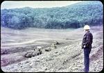 Switzer Dam under Construction- Mayor Erickson viewing by James Madison University