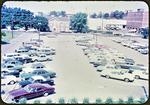 Free parking lot behind Municipal Building by James Madison University