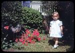 Laura and the azalea bush by James Madison University