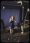 Kathleen Ebel on swings, Thanksgiving by James Madison University