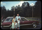 Diane, John Golden and girls in Hillandale Park by James Madison University