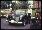 Chester Bradfield and his 1950's Studebaker, Poultry Parade