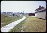 Walkway behind homes in Green Run, Virginia Beach