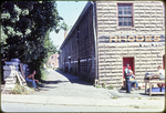 10' alley along west side of Rhodes Candy Co. by James Madison University