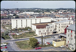 View of Polly Lineweaver Apartments and Juluis buildings by James Madison University