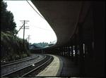 Railway platform in Staunton