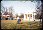 Mary and Laura on The Lawn, University of Virginia