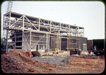 Outer walls take form, Steam Plant by James Madison University