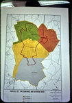 Annexation Map, proposed Fire Department districts (4) by James Madison University