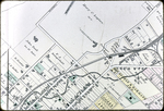 Map of 1885 Harrisonburg - Northwest Section, Collicello House and railroad yards