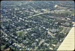 "Aerial View, ""Old Town"" Harrisonburg by James Madison University"