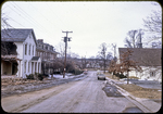 Cantrell Ave. under construction looking west near Episcopal Church by James Madison University