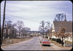 Cantrell Ave. just before construction looking west near Episcopal Church