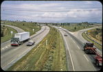 Interstate 81 and Route 33 cloverleaf by James Madison University