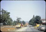 Cantrell Ave. under construction looking west from S. Mason by James Madison University